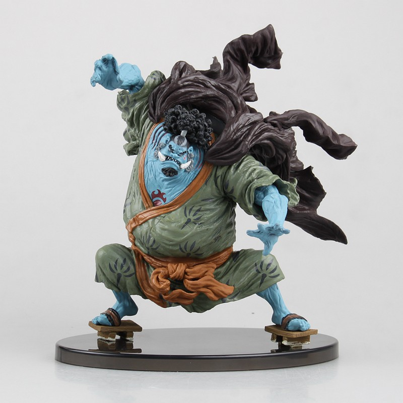 best hot anime One Piece action figure Jinbe arrogance Fight Frame  pvc figure classic painted collection toy