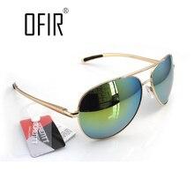 OFIR UV400 hombres de la Marca de Gafas de Sol de Conducción Piloto Gafas de Sol Para Mujeres de Los Hombres Gafas de Sol ALU-7