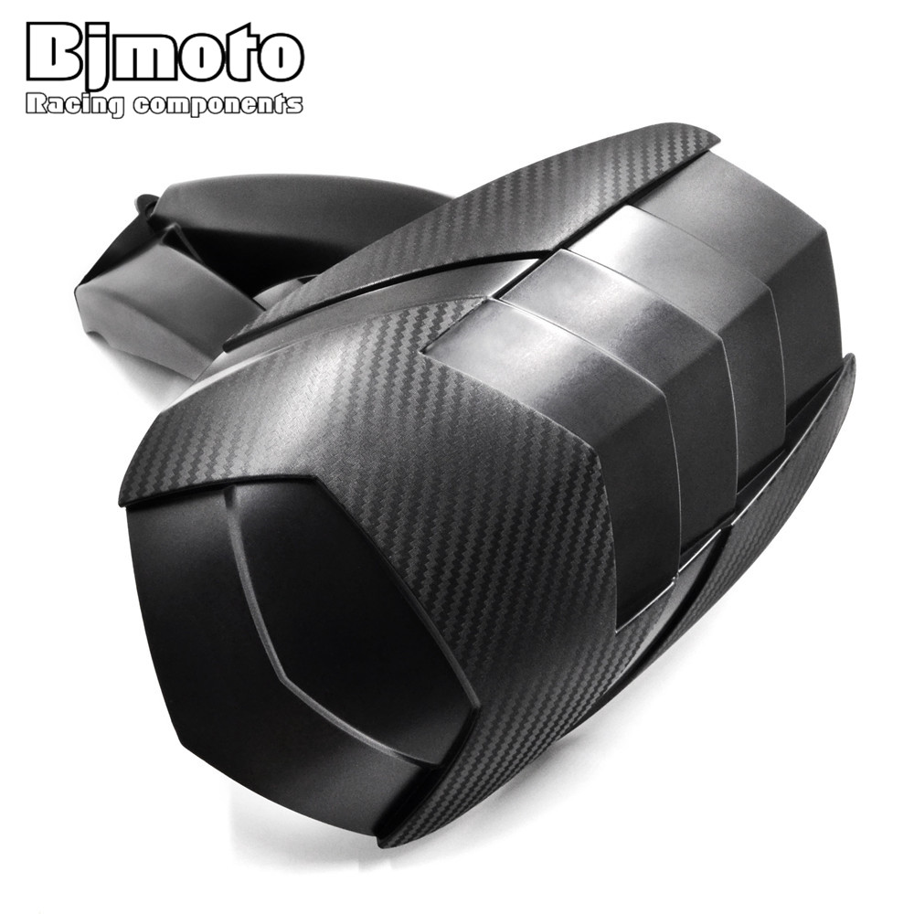 BJMOTO For BMW R1200GS 2004-2012 Motorcycle Mudguard ABS Black Rear Tire Hugger Fender Bracket bjmoto motorcycle abs rear fender bracket motorbike mudguard for bmw r1200gs 2004 2012