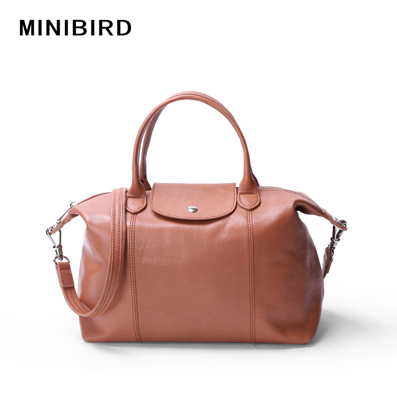 Lady Simple and Generous Handbags Women Genuine Leather Crossbody Bags Goat Raw Skin Soft Hobos Toes High-Capacity Light WeightLady Simple and Generous Handbags Women Genuine Leather Crossbody Bags Goat Raw Skin Soft Hobos Toes High-Capacity Light Weight