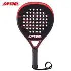 OPTUM ELITE 3K Carbon Fiber Pro Tennis Padel Racket Pop Tennis Paddle Raquete Padel Schop Padel Pala met Cover tas - 2