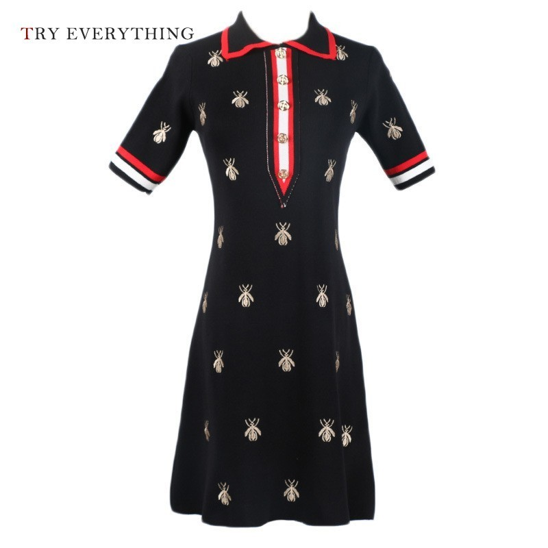 Embroidery White Cotton Dress Women Summer 2019 Button Short Sleeve Casual Dress Patchwork Ladies Collar Shirt Midi Dress Women in Dresses from Women 39 s Clothing