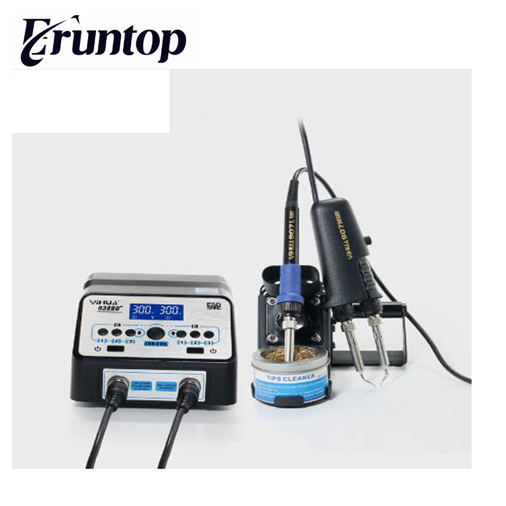 YIHUA 938D desoldering tweezers soldering station digital display Anti-static electric welding machine цена
