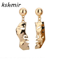 Creative fashion jewelry earring mask eardrop simple earrings woman flavour The earrings girl to dance EE87 creative fashion feature feathers eardrop the net that chased your dreams