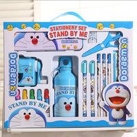 1 set Cute cartoon stationery set school&office supplies student prizes gift good quality new style stationery kid learning tool