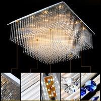 Luxury Glass Ceiling Luminaire Modern Crystal Lamp Led Bedroom Living Room Kitchen Ceiling Lights Interior Lighting