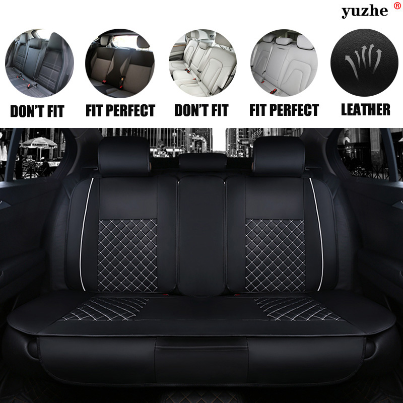 Yuzhe Leather car seat cover For Mazda 3 6 2 C5 CX-5 CX7 323 626 M2 M3 M6 Axela Familia car accessories cushion car-styling 2017 luxury pu leather auto universal car seat cover automotive for car lada toyota mazda lada largus lifan 620 ix25