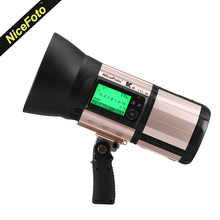 New NiceFoto K8 800Ws GN103 TTL HSS 1 8000S 2 4G Wireless Battery Powered Flash With
