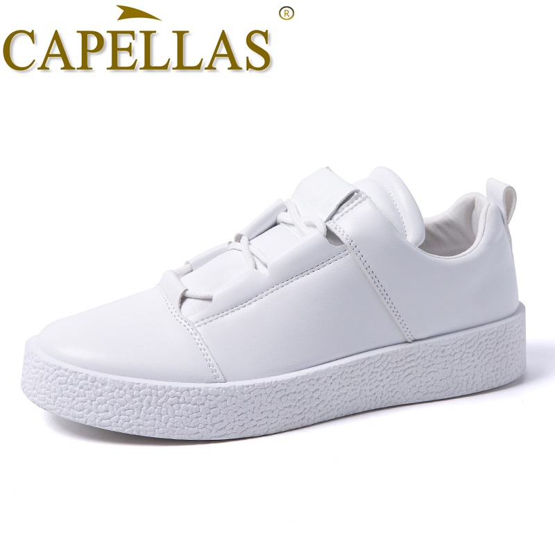 CAPELLAS New Trend Fashion Herrskor Mäns Casual Shoes Högkvalitativ - Herrskor