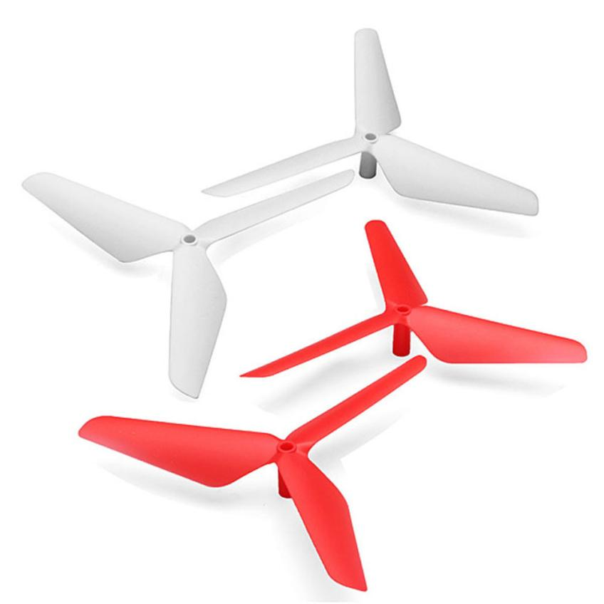 2016 New 4PC 3 Blade Propeller for Syma X5 X5C X5SC X5SW Red White Aug5