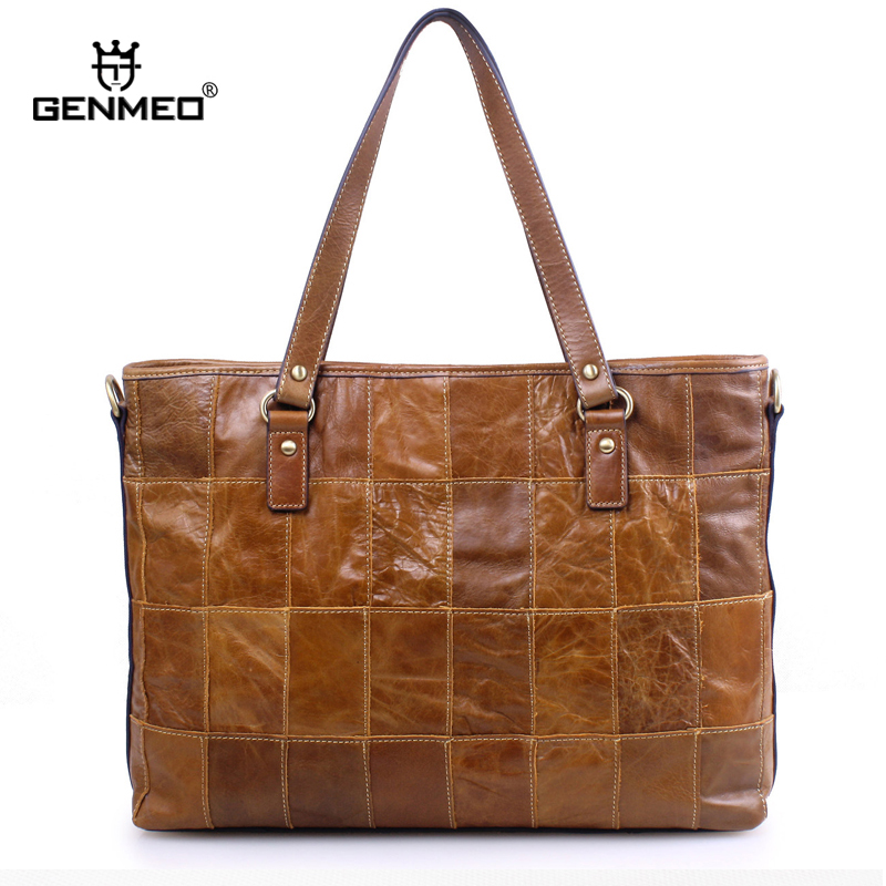 New Arrival Vintage Genuine Leather Handbag Women Cow Leather Fashion Bags Sexy Ladies Shoulder Bag Retro Leather Messenger Bag цена и фото