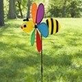 1 Unid Animales Abeja Molino de Viento Molino de Viento Spinner Perinola Jardín Césped Camping Artes Decorativas Accesorios Niños Brinquedos Juguetes Al Aire Libre