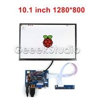 10.1 inch 1280*800 IPS LCD Display Screen Monitor HDMI + VGA + 2AV Driver Board for Raspberry Pi