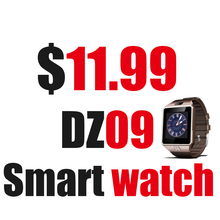 Smart Watch DZ09 Support Multi languages WhatsApp for Android Iphone Camera Bluetooth Wristwatch Smartwatch Phone
