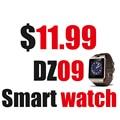 Smart Watch DZ09 Поддержка Нескольких языков WhatsApp для Android Iphone Камеры Bluetooth Наручные Часы Smartwatch Телефон