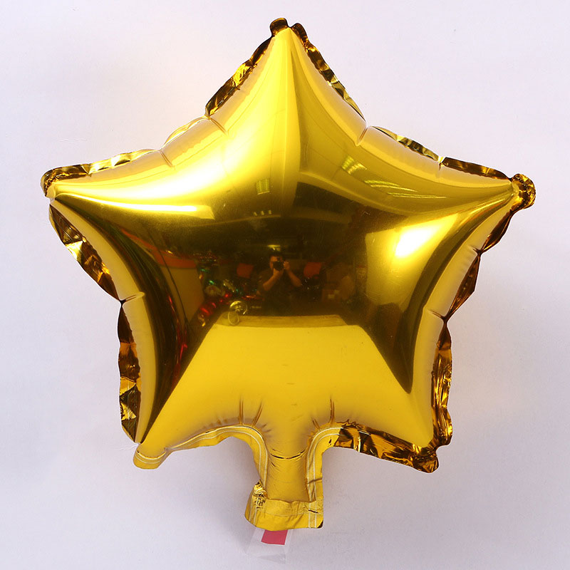 10pcs/lot 10 inch Five-Pointed Star Foil Balloon For Baby Shower And Wedding Decorations 13