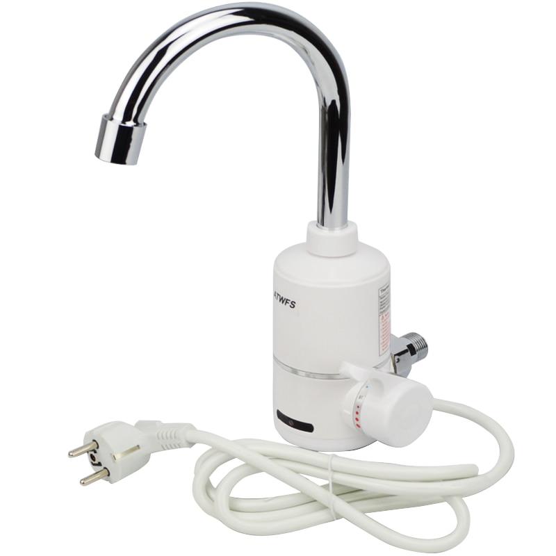 atwfs 3000 w nouveau robinet deau chaude instantane chauffe eau lectrique de cuisine robinet deau instantane de nol cadeau