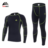Thermal Underwear Sets 2016 Men Winter Outdoor Sports Fleece Long Johns Warm Thermo Underwear Mountaineering Skinning