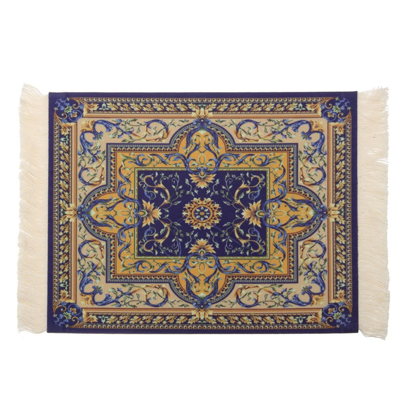 Vintage Persian Style Woven Rug Mouse Pad Carpet Mouse Mat Office Tool Gift Mouse Mat Pad For Computer Gaming Bohemia
