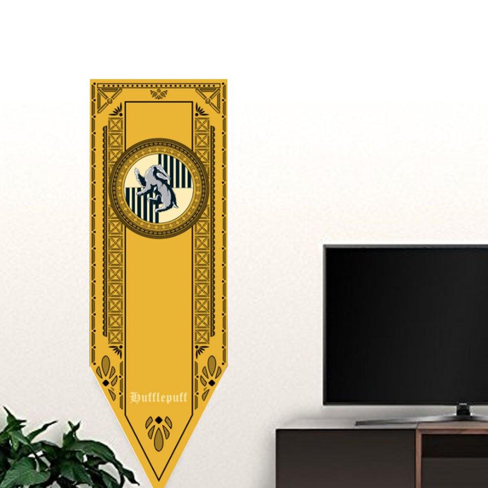 50x150cm Harry Potter Gryffindor Hufflepuff Ravenclaw Flag Hogwarts ...