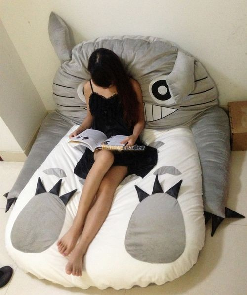 Fancytrader 190cm X 130cm Super Cute Huge Giant Totoro Bed Tatami Carpet Sofa Free Shipping FT90191 (20)