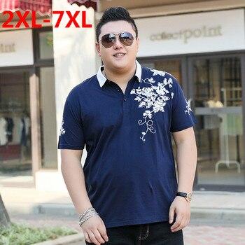 2018 new Plus size 9XL 8XL 7XL 6XL 5XL Fashion Mens summer brand palace Short sleeves lapel camisa polo ralphmen pol shirt men