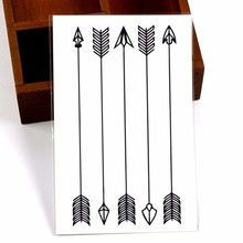 Arrow Tattoo Stickers Little Waterproof Refers To The Body Art Of Temporary Body Tattoo Stickers