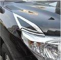 Car head light cover,auto front light trim for toyota  Land Cruiser 200 2013-2015, auto accessories