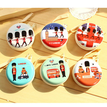 35PCS / LOT Women Coin Purse Cartoon Round Zipper Headset Bag Small Purse Cute Wallet Pouch Bag Girl Gift etya women coin purse cartoon cute headset bag small change purse wallet pouch bag for kids gift mini zipper coin storage bag