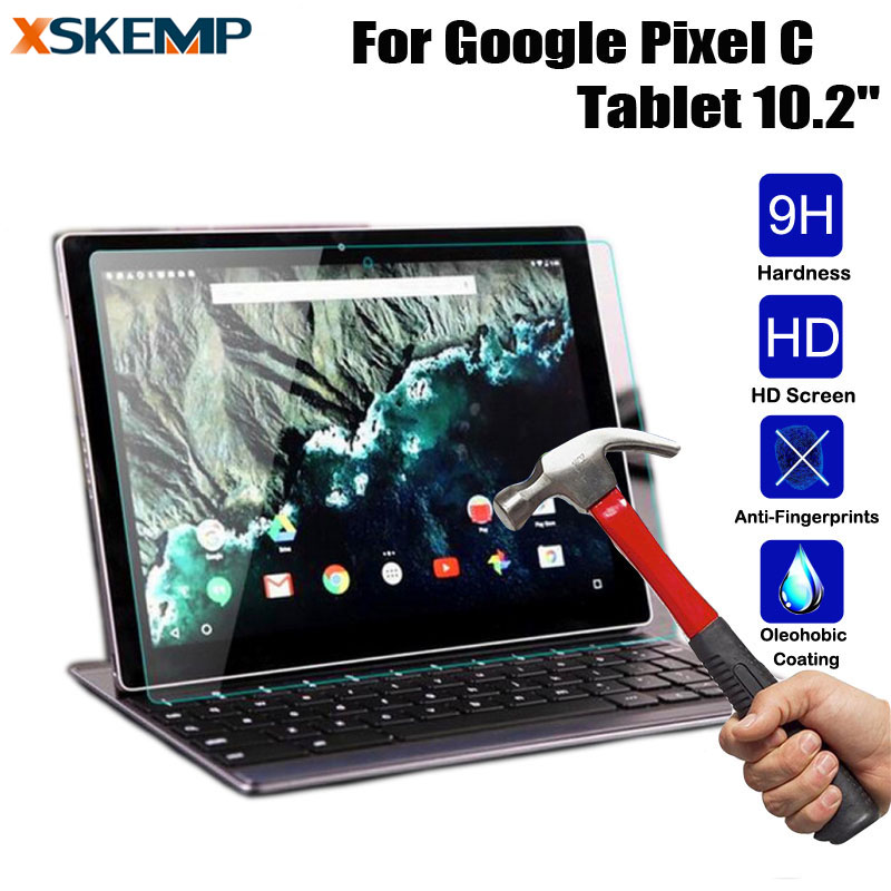 Tablet Tempered Glass Screen Protector Cover For Google Pixel C