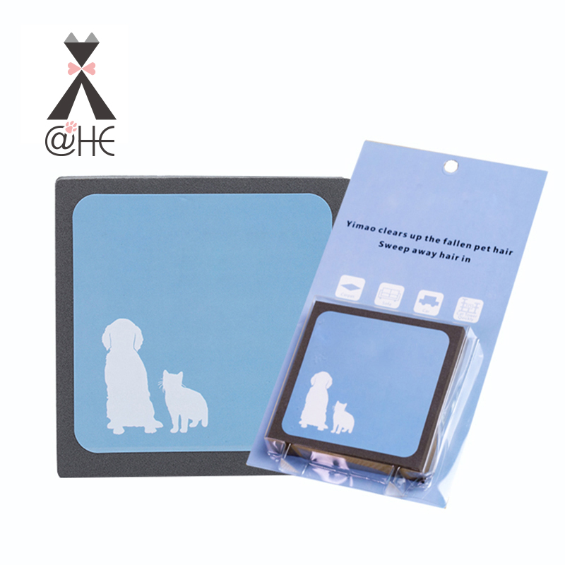 @HE Pet Hair Cleaning Foam Rubber Handy Cat Dog Hair Remove Tool Cat Dogs Brush Hair Erasing For Bedding Carpets Car Seats Cloth