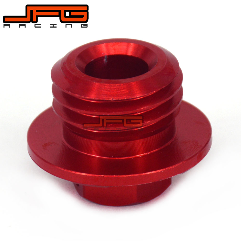CNC Billet Oil Filler Plug For CR125R 250R CRF150R CRF250R CRF450R CRF450X CRM250R CRF250L Dirt Bike Motocross Off Road Off Road