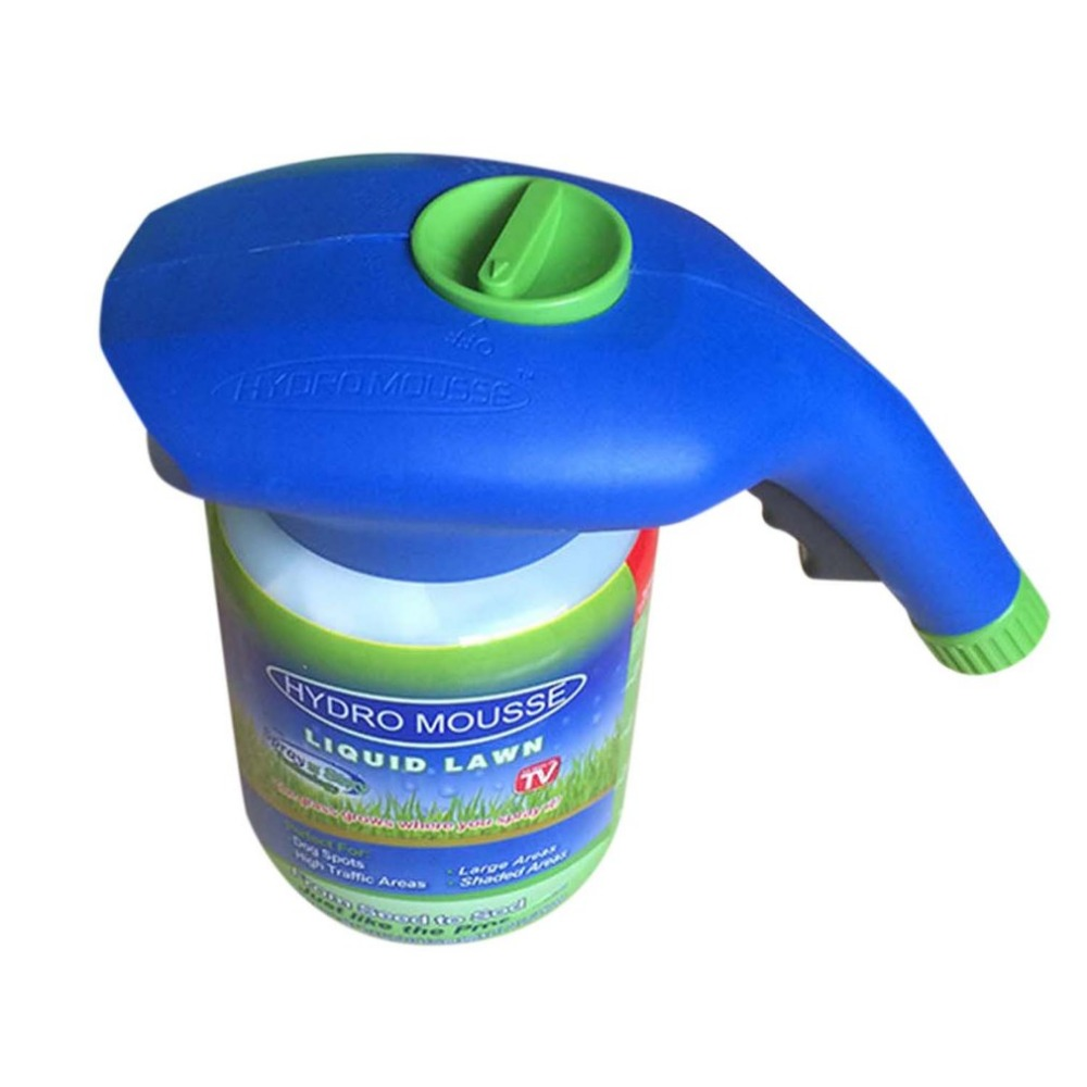 Image 5 - Gardening Seed Sprinkler Lawn Hydro Mousse Household Hydro Seeding System Grass Liquid Spray Device Seed Lawn Care Watering-in Watering Kits from Home & Garden