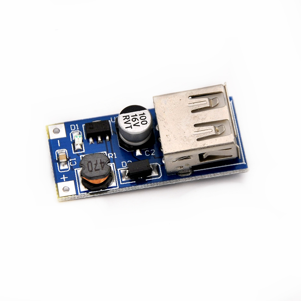 D195 Free Shiiping 150pcs Dc Boost Module Power Supply 09 Integrated Circuits Suppliers For Sale 09v 5v To 600ma Usb Mobile Circuit Board In From