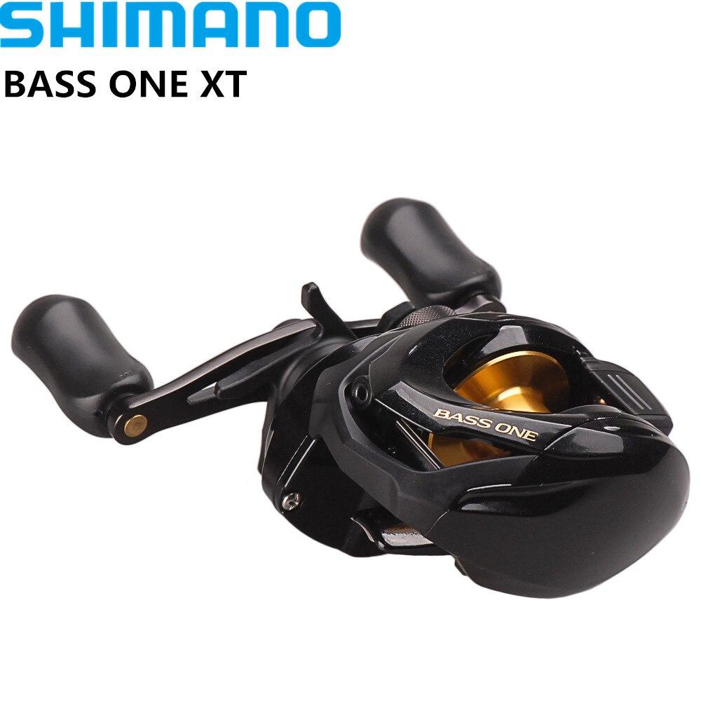 Shimano ONE BASS XT 150 151 Destra Sinistra Baitcasting di Pesca bobina di 7.2: 1/4 + 1BB 5.0 kg SVS Syetem Bobina Bobina di Pesca Moulinet Peche