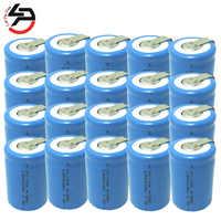 4/5 Sub C 1200 mAh 1,2 V 4/5SC NI-CD Wiederaufladbare Batteria zelle für Energienbank Spielzeugauto 20 Paket