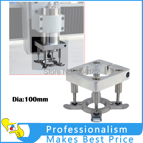 Factory Supply CNC Engraving machine spindle auto pressure  water-air-cooled motor fixture plate Dia 100mm diy accessories dc48v 400w 12000rpm brushless spindle motor air cooled 529mn dia 55mm er11 3 175mm for cnc carving milling