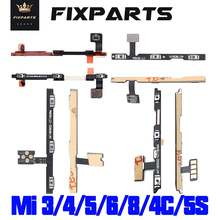 Power On/Off Volume Buttons Flex Cable  Xiaomi Mi 3 MI 4 8 SE Mi8 Mi6 Mi5 M5 Mi4i Mi4c Mi4s 6x Note Power/Volume