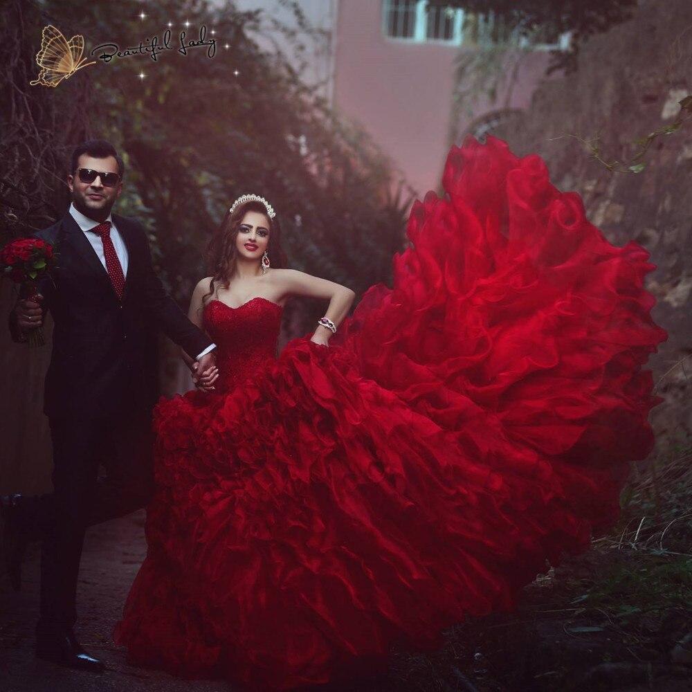 f0ddc5984af Dark Red Wedding Dresses - Gomes Weine AG
