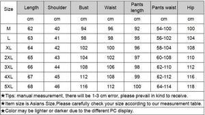 Image 5 - FallSweet נשים פיג מה סטי משי מוצק הלבשת פיג בתוספת גודל V צוואר Nigtwear סטי 5XL