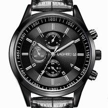 Relojes para hombre 2017 relojes de pulsera de cuarzo de lujo de marca superior ultrafinos de acero inoxidable negro ocio deportivo luminoso reloj impermeable