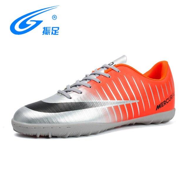 59e616269aff3 ZHENZU 2018 جديد الفتيان لكرة القدم أحذية Superfly الاطفال أحذية كرة القدم  الرجال أحذية كرة القدم تنفس لكرة القدم المرابط عدم الانزلاق Chaussure