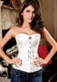 new 2017 bustiers & corsets gothic Luxurious Pteris Jacquard Corset Corselet waist chest binder espartilho e corselets women