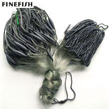 Finefish Finland net water catch fishing gillnet 1.8M high 30M length float fishing net high quality new trap fishing network