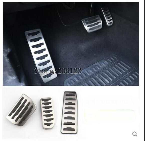 For Land Rover Discovery Sport For Range Rover Evoque 12-17 Car Fuel Gas Brake Pedal Cover Trim Car Accessories New