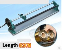 Manuel sıcak folyo rulo kesme makinesi kesici 82 cm max rulo uzunluğu