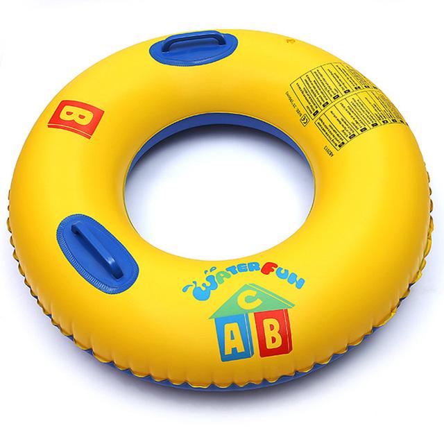 PVC inflável anel da nadada espessamento adulto crianças nadando voltas ABC equipamento de natação Bóia Salva-vidas anel de borracha do bebê float
