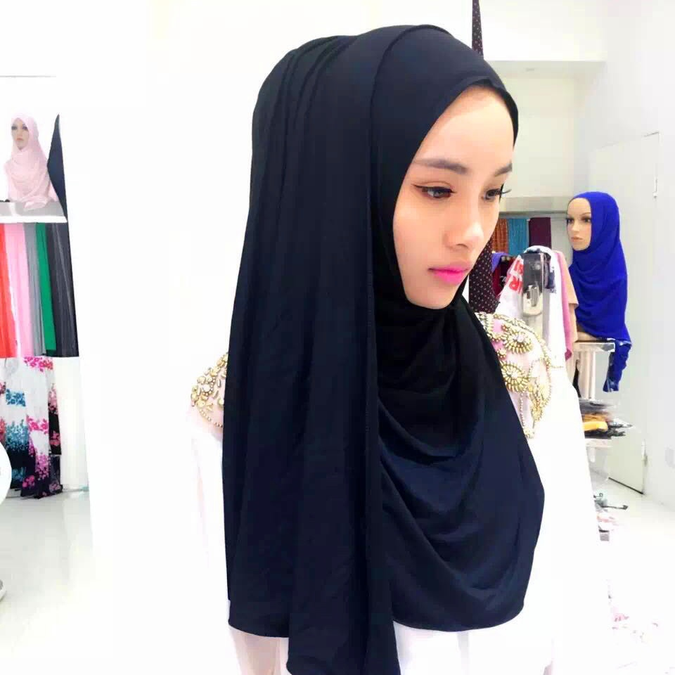 Muslim hijab Modal Solid Color Scarves Women's Scarf