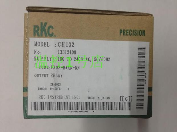 RKC thermostat CH102 full input intelligent PID temperature controller Ch101 universal temperature controller Ch102FK02-M*AN-nn temperature controller xmt 803 intelligent intelligent pid temperature controller universal input alarm function 72 72