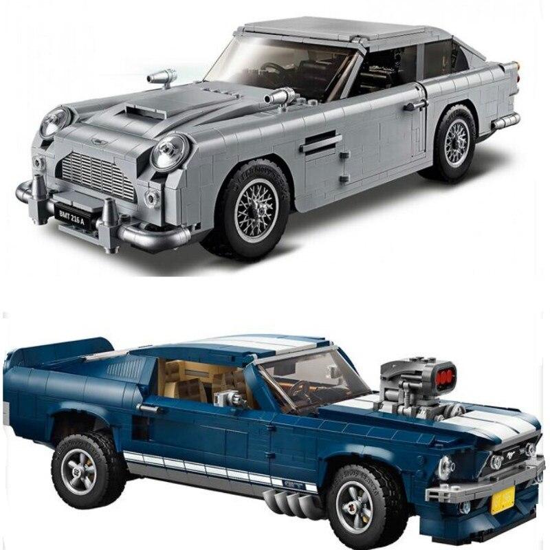New Forded Mustanged 21047 Creator Expert Technic Compatible 10265 Set Building Blocks Bricks Toys Birthday Christmas
